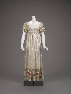 Evening Dress, French, c. 1815.