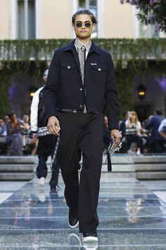 Versace's Menswear Collection SS18 Milan