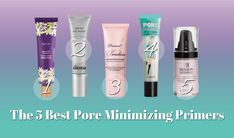 """I swear one day I woke up and my pores were all like, """"HEY GIRL! HOW YOU DOIN'?"""" Out of absolutely nowhere, I had pores that wanted all the attention. Best Primer For Pores, Best Face Primer, Pore Minimizer Primer, Best Pore Minimizer, Foundation For Mature Skin, Best Foundation, Dupes, Anti Aging, Big Pores"""