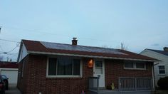 Emergency services for tarping off a roof that wind damage and shingles blew off the roof!