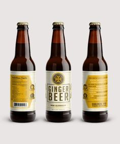 Hand crafted & bottle conditioned made with real English ginger beer cultures & organic ginger.