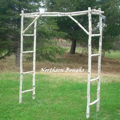 Add a measure of enchantment to your wedding ceremony with a Northern Boughs custom handmade birch arch. Each arch package features all the components necessary