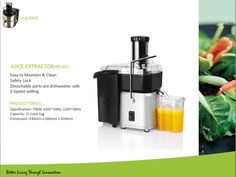 Juicer starting from $18