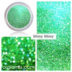 Want cruelty-free, vegan makeup? Sparkle Eye Makeup, Glitter Makeup, Glitter Eyeshadow, Glitter Pigment, Body Glitter, Green Glitter, Cosmetic Grade Glitter, Types Of Makeup, Pale Orange