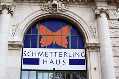 Girl vs Globe: Schmetterlinghaus, Vienna: Adventure Times with Butterflies Butterfly Video, Butterfly House, Art Nouveau Architecture, Embedded Image Permalink, Globe, Adventure, Butterflies, Times, Places
