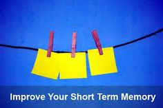 how to improve your short term memory