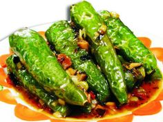 Sichuan: 虎皮青椒 Hupi Qingjiao - Stir-fried Hor Green Peppers