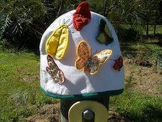 Val Spiers Sews: Butterfly tea cosy..free pdf