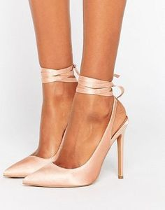 ASOS – PIPE DOWN – Spitze High-Heels