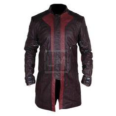Avengers Hawkeye Genuine Leather Coat 1