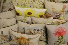 Ashley Interiors 353 - Voyage Lorient Prestigious Textiles, Beautiful Curtains, Fabric Suppliers, Soft Furnishings, Bed Pillows, Interiors, Design, Decor, Travel