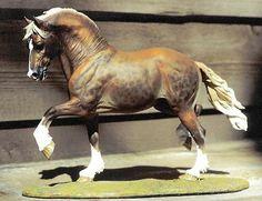 horse model scupltors   Linda York 'Brenin' resin cast by Horsing Around, painted & resculpted ...