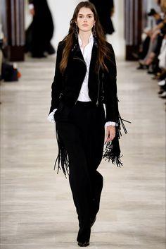Sfilata Ralph Lauren New York - Collezioni Autunno Inverno 2016-17 - Vogue