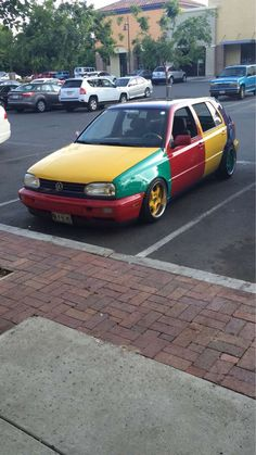 c09bab57dfb5 Spotted a Volkswagen Golf Harlequin in Citrus Heights CA. Citrus Heights
