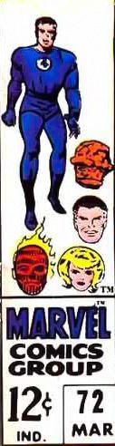 Fantastic Four corner box art (1960's)