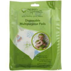 Disposable Multipurpose Pads 7pk by Green Sprouts