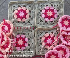 Ravelry: Eight Petal Granny Square pattern by zelna olivier
