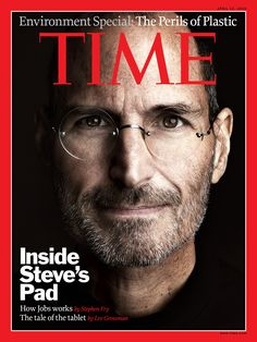 Another great programmer and Bill Gates's rival, Steve Jobs. Steve jobs was successful in helping create the Mac, Iphone, and Ipod. Time Magazine, Korean Magazine, Man Magazine, Paper Magazine, Magazine Rack, Magazine Front Cover, Magazine Cover Design, Michelle Obama, Pixar
