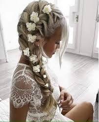 Resultado de imagem para penteados para casamento cabelo comprido com trança