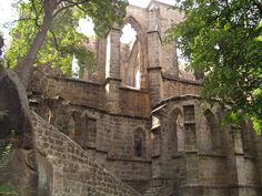 The church ruins at Oybin Gothic Architecture, Abandoned Places, Small Towns, Prague, Dog Love, Mount Rushmore, Beautiful Places, Germany, Bohemian