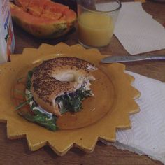 A bagel a day keeps you happy! by rakkausrunoja