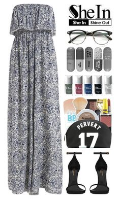 """""""SheIn"""" by yesanastasia1919 ❤ liked on Polyvore featuring Yves Saint Laurent, Sheinside and shein"""