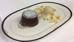 February is National Chocolate Lovers Month!  Come try the Fairview Dining Room's  Chocolate Molten Cake with caramel ice cream, caramel corn, spiced anglaise.