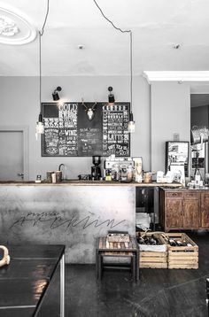 SUPERB INDUSTRIAL CAFE DECORATION See more at: http://vintageindustrialstyle.com/superb-industrial-cafe-decoration/