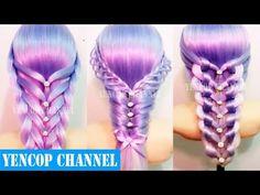 7 Peinados Faciles Y Rapidos Para Cabello Corto o Largo Trenzas (P1)   Peinado 2015 - 2016 ♥ Yencop - YouTube