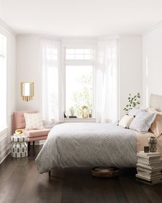 We'd like to wake up here every single morning, please.Nate Berkus Cream Diamond Embroidered Oblong Throw Pillow with Poms (18'x13'), $19.99Nate Berkus Cream Pom Dot Square Throw Pillow (18'x18'), $19.99Nate Berkus Gray Woven Duvet Cover Set, Full/Queen, $79.99Nate Berkus Stoneware Stool - White/Black, $69.99Nate Berkus Metal Wall Mirror - Gold, $34.99Nate Berkus Moroccan Lantern Candle Holder - Gold, $34.99Nate Berkus Pom Basket Tray - Natural, $29.99Nate Berkus Diamond Dot Vase - Small…