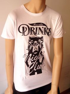 T-shirt donna Incubo Drinks