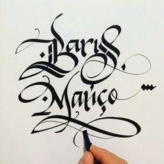 İyi ki doğdun Barış Manço... Nur içinde yat... #barışmanço #gülpembe #calligraphy #inspiration #instaart #hyperlapse #timelapse #meliksayin… Calligraphy Alphabet, Typography Letters, Caligraphy, Hand Lettering, Arabic Calligraphy, Writing Fonts, Typo Design, Tumblr Photography, Handwritten Fonts