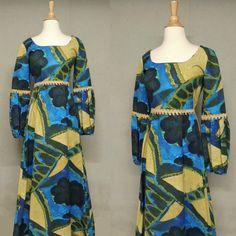 Vintage 60s Hawaiian Dress / Tori Richards Mid by GGMMVintage