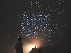 interactive installation with alphabets