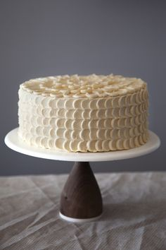 dulce cake; must try; made with dulce de leche, a lot of butter and veg. oil for the moistest cake ever; covered in dulce de leche american buttercream