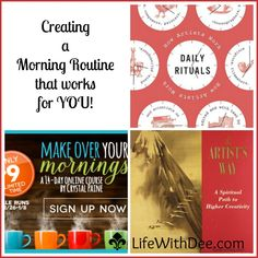 Creating a Morning Routine That Works For Me