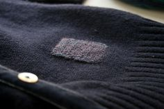 AMAZING stitch job on sweater...when I learn to stitch I will do this to all my sad cashmere  ;. ;