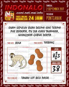 Dukun 3D Togel Wap Online Indonalo Pontianak 2 September 2017
