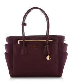 on The West Baby Bag is a must-have designer handbag for moms (and babies) with an eye for chic style.The West Baby Bag is a must-have designer handbag for moms (and babies) with an eye for chic style. Mk Handbags, Fashion Handbags, Purses And Handbags, Fashion Bags, Leather Handbags, Cheap Handbags, Burberry Handbags, Emo Fashion, Style Fashion