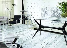 Wood Flooring Ideas from Bauwerk Parkett, Floor Decor for Modern Interiors Modern Wood Floors, Industrial Flooring, Timber Flooring, Parquet Flooring, Flooring Ideas, Hardwood Floor, Interior Modern, Office Interior Design, Modern Decor