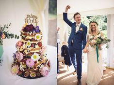 One Thousand Paper Cranes and a Suzanne Neville Gown for a Relaxed and Colourful Marquee Wedding