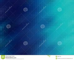 Stock Image: Abstract cyan background - mosaic.