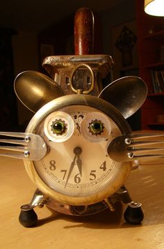 Kitty Time by Bill McKenney - Bills Retro Robots