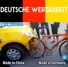 Made in China vs. Made in Germany Qualität - Chinesenwitze