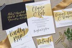 Znalezione obrazy dla zapytania hand lettered wedding invitations