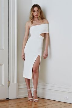 PRE ORDER Genesis Dress - White by Maurie & Eve