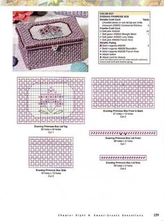 ru / Фото - 101 Easy Home Accents - risau Plastic Canvas Box Patterns, Plastic Canvas Stitches, Plastic Canvas Ornaments, Plastic Canvas Christmas, Plastic Canvas Crafts, Tissue Box Covers, Tissue Boxes, Soap Boxes, Canvas Designs