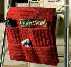 Crochet PATTERN - Walker Caddy