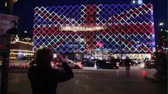 Eurovision facadelys, Welcom to CPH - DI - Dansk Industri