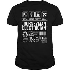Awesome Tee For Journeyman Electrician T-Shirts, Hoodies. Get It Now ==> https://www.sunfrog.com/LifeStyle/Awesome-Tee-For-Journeyman-Electrician-105349514-Black-Guys.html?id=41382